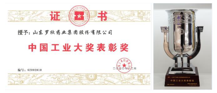中国工业大奖表彰奖